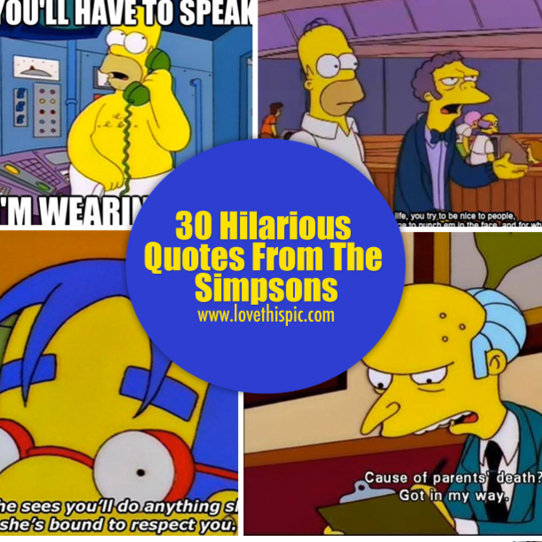 Simpsons Quotes: 30 Hilarious Quotes From The Simpsons