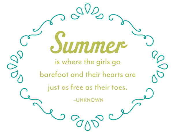 Summer Quotes: 10 Summer Quotes And Sayings