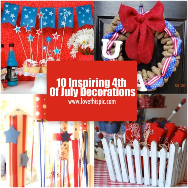 May The Fourth Be With You Party Supplies: 10 Inspiring 4th Of July Decorations