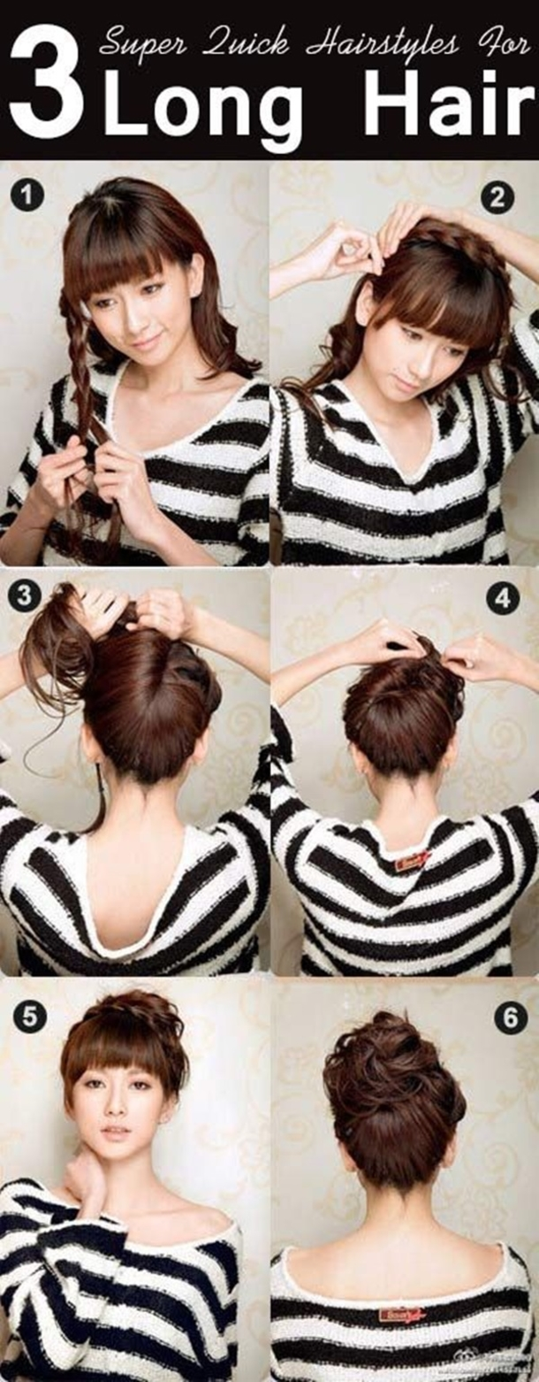 Easy Hairstyles On The Go 40 Easy And Quick Hairstyles For The Working Woman