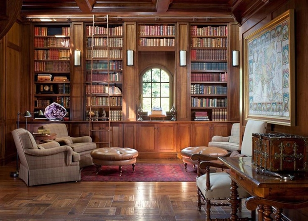10 Home Library Interior Design Ideas