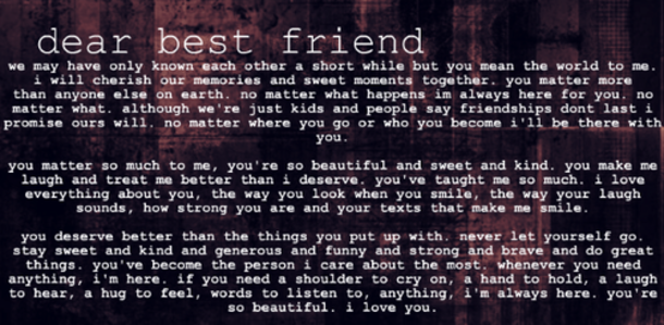 43 Best Friend Quotes For Girls 4879 13
