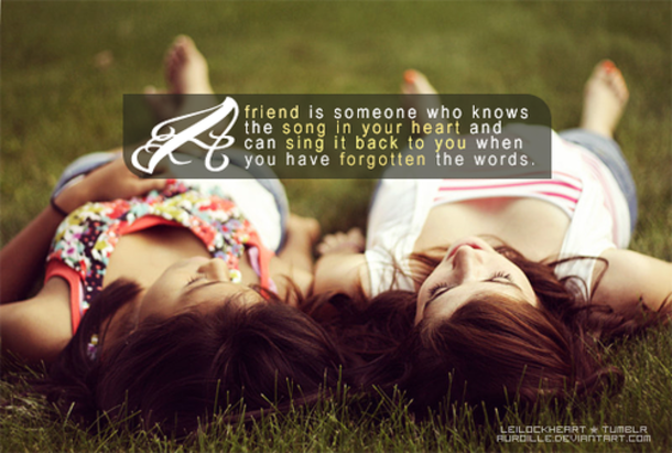 43 Best Friend Quotes For Girls 4879 21