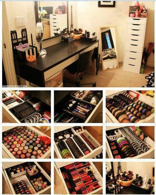 10 Creative Makeup Organization Ideas