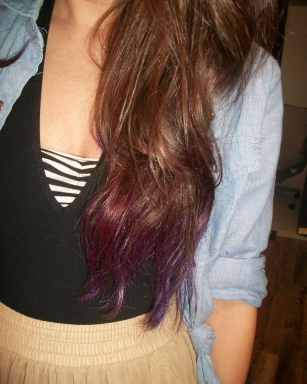 40 Subtle Dip Dye Ombre Ideas For Long Hair