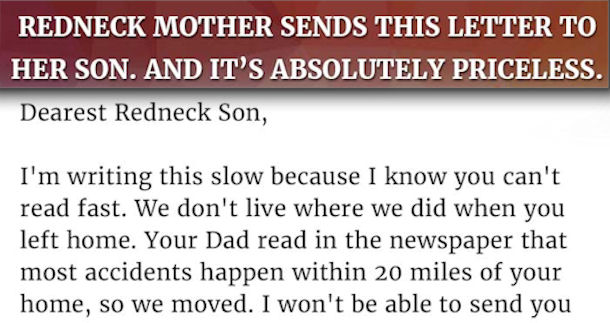 mother s letter to her son sends this letter to and its priceless 23700 | 6 1430095416 0 1140