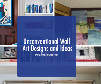 Unconventional Wall Art Designs and Ideas