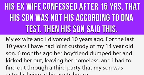 His Ex Wife Confesses After 15 Yrs  That His Son Was Not His