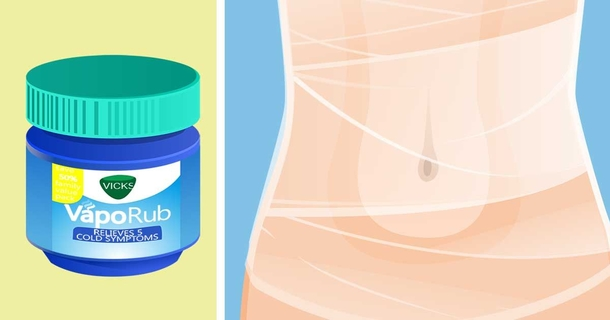 How To Easily Remove Belly Fat Using Vicks Vapor Rub