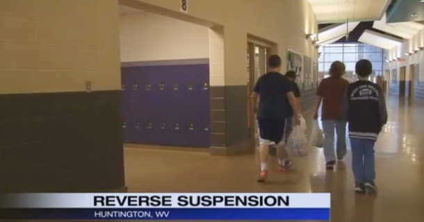 middle school reduces bad behavior dramatically with