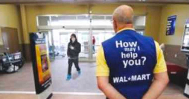 Elderly Man Gets Fired On His First Day At Walmart The