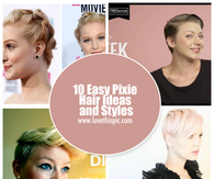 10 Easy Pixie Hair Ideas and Styles