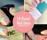 10 Pastel Nail Ideas