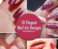 10 Elegant Nail Art Designs