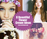 8 Beautiful Flower Crown Ideas