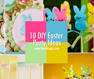 10 DIY Easter Party Ideas