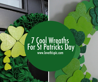 7 Cool Wreaths For St Patricks Day