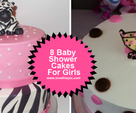 8 Baby Shower Cakes For Girls