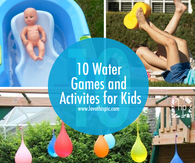 10 Water Games and Activites for Kids