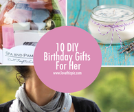 10 DIY Birthday Gifts For Her