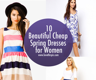 10 Beautiful Cheap Spring Dresses for Women
