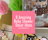 8 Amazing Baby Shower Decor Ideas