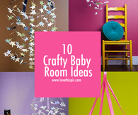10 Crafty Baby Room Ideas