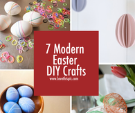 Modern Easter DIY Crafts