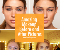 Amazing Makeup Before and After Pictures