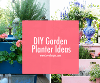 DIY Garden Planter Ideas