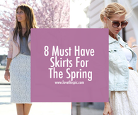 8 Must Have Skirts For The Spring