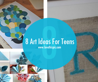 8 Art Ideas For Teens