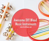 Awesome DIY Wood Music Instruments