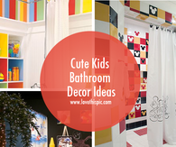 Cute Kids Bathroom Decor Ideas