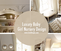 Luxury Baby Girl Nursery Design