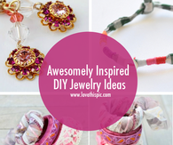 Awesomely Inspired DIY Jewelry Ideas