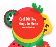 Cool DIY Key Rings To Make