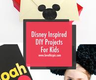 Disney Inspired DIY Projects For Kids