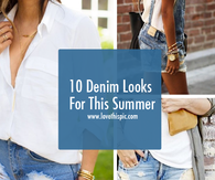10 Denim Looks For This Summer