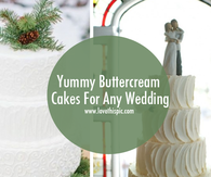 Yummy Buttercream Cakes For Any Wedding