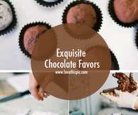 Exquisite Chocolate Favors