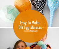 Easy To Make DIY Egg Maracas