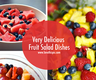 Very Delicious Fruit Salad Dishes
