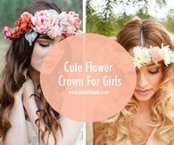 Cute Flower Crown For Girls