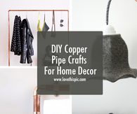 DIY Copper Pipe Crafts For Home Decor