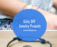 Girly DIY Jewelry Projects