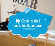 DIY Cloud Inspired Crafts For Home Decor