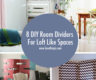 8 DIY Room Dividers For Loft Like Spaces