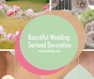 Beautiful Wedding Garland Decoration