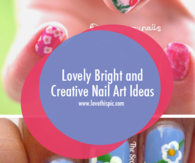 Lovely Bright and Creative Nail Art Ideas